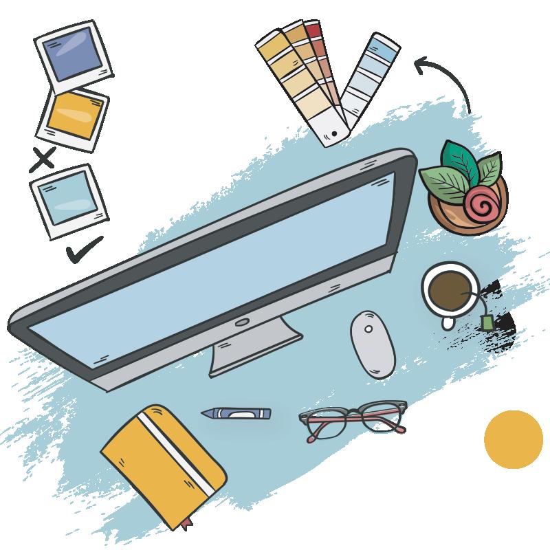 Atelier graphique - Agence Colysée Média